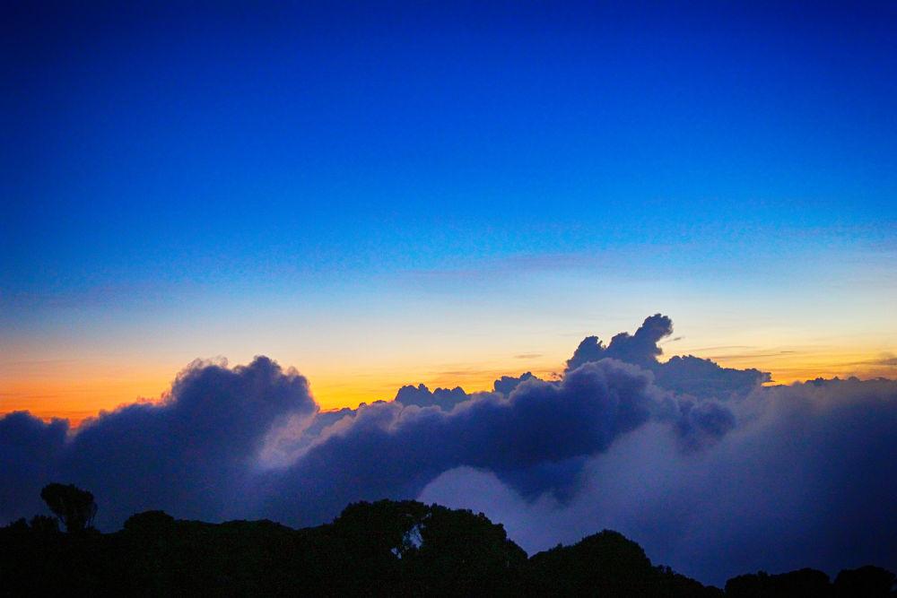 Cloud Over Kilimanjaro. by mountaingoat