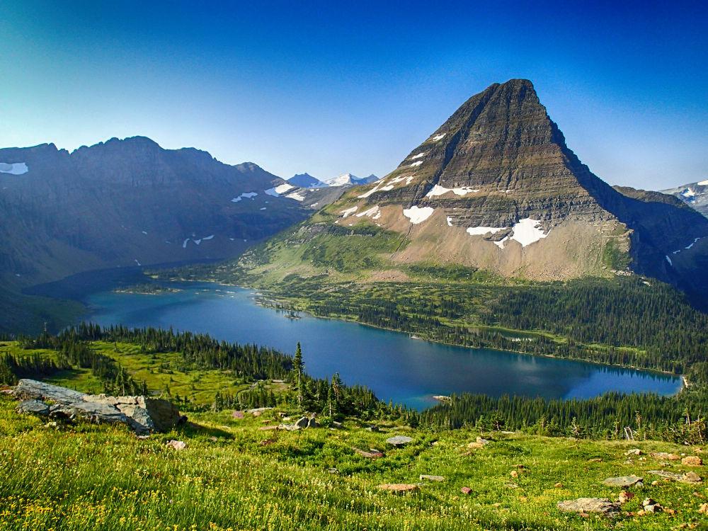 Hidden Lake, Montana. by mountaingoat