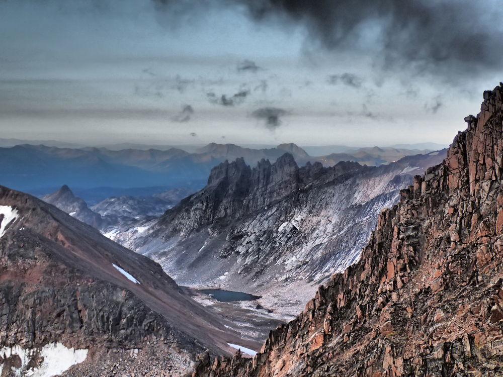 Distant Mountains In Ecuador. by mountaingoat