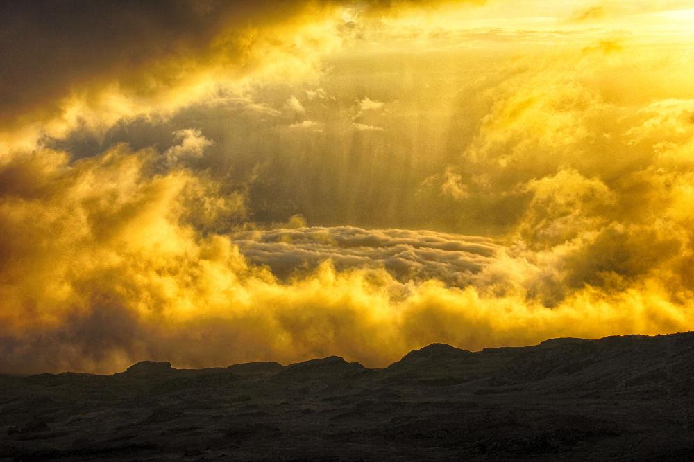 Near The Summit Of Kilimanjaro. by mountaingoat