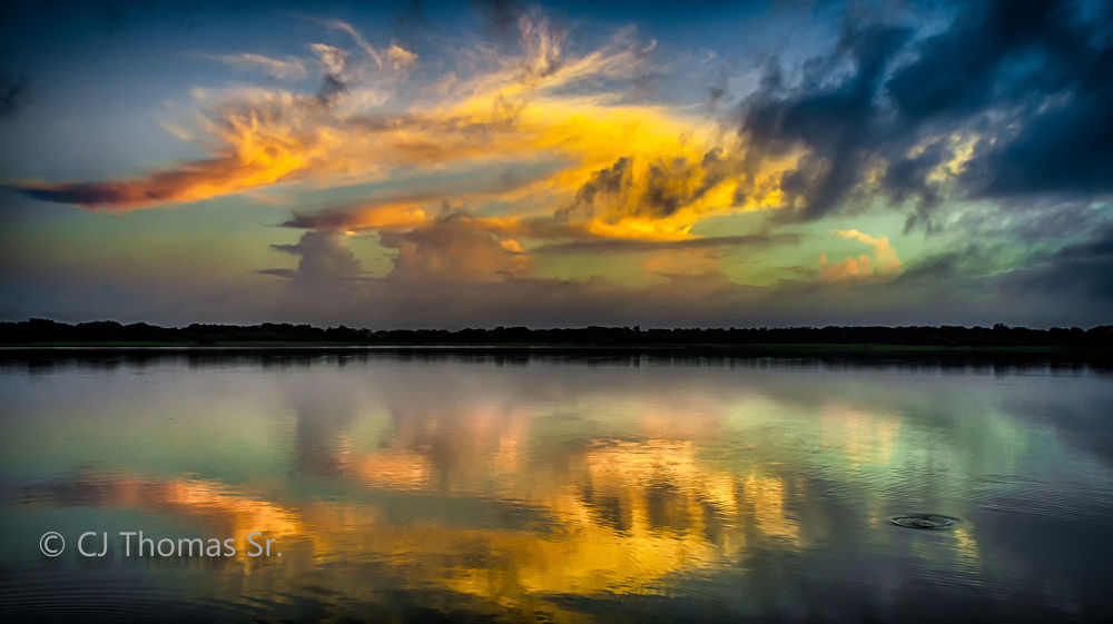 LLS - Local Lake Sunset by ElSenCeej