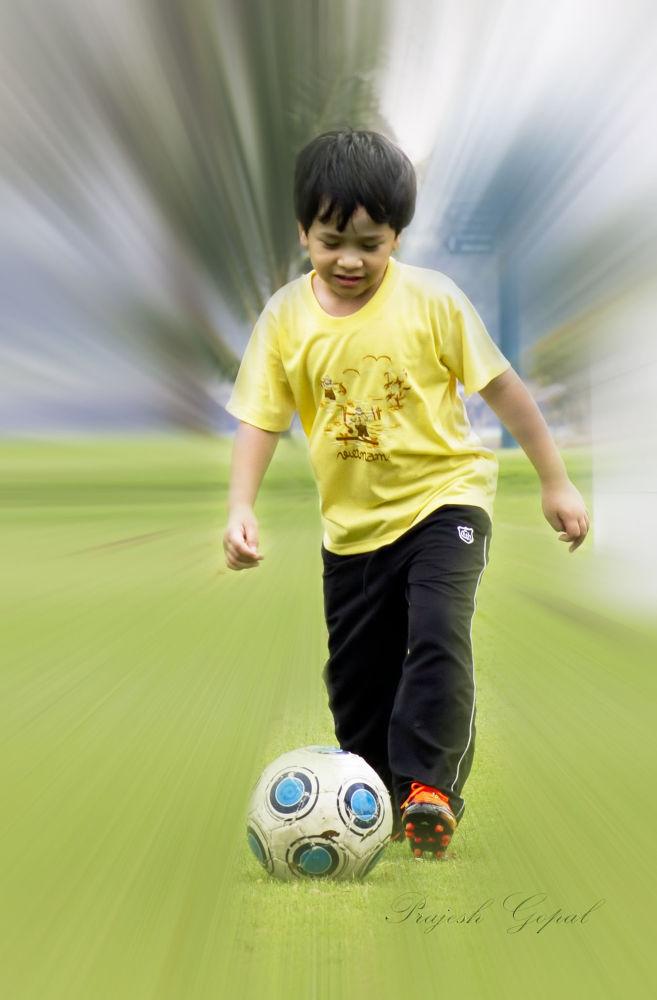 football by Prajeshvenugopal