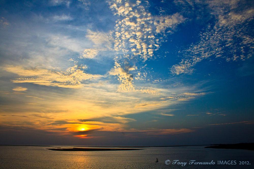 Sun set in Mannar Islands...IMG_1699 R by tony fernando