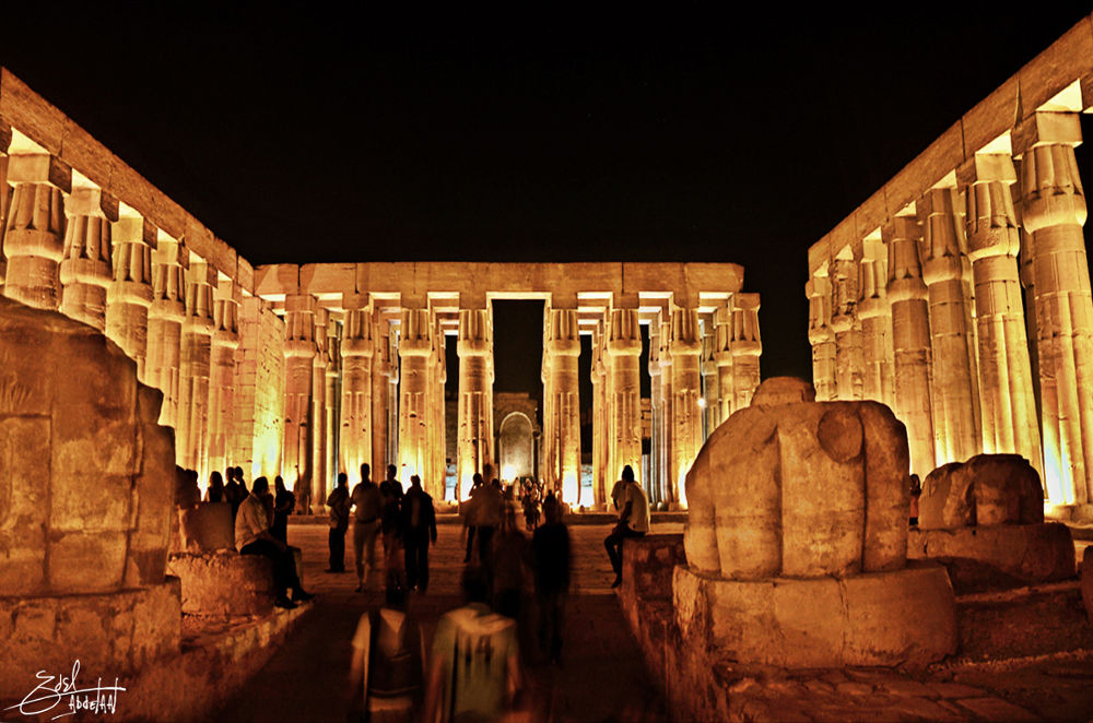 Luxor Temple by AdelAbdElAalPhotographer