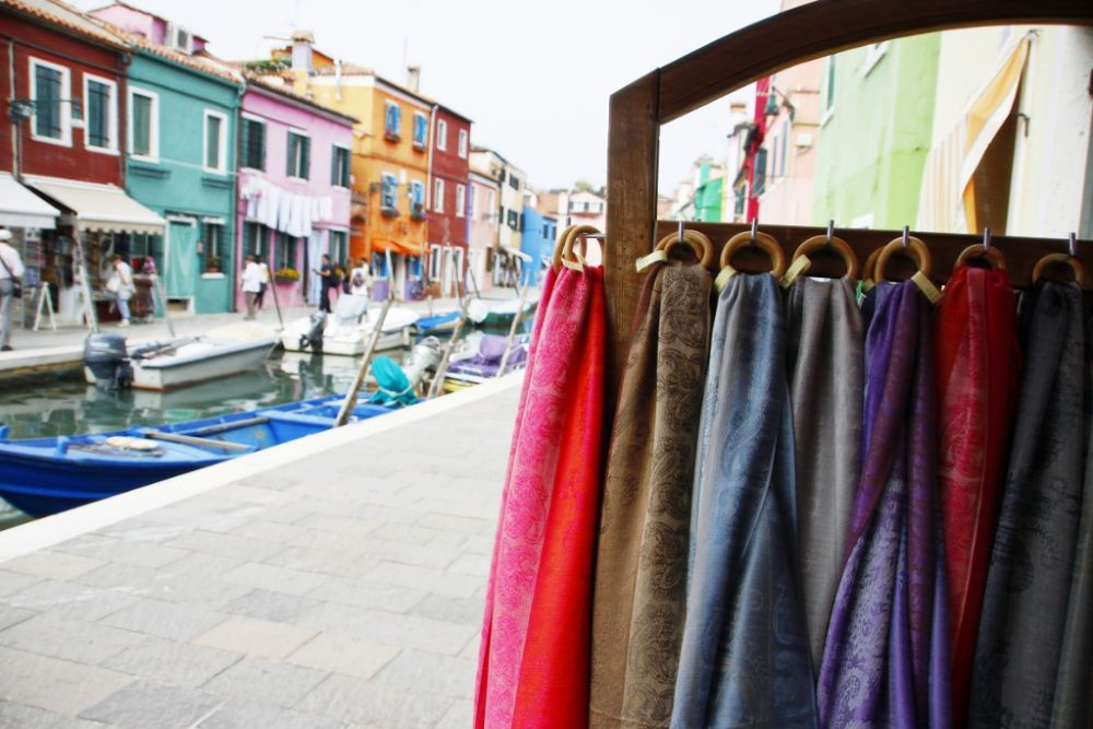 Photo in Street Photography #burano #italy #venezia #island #color #people #street #veneto
