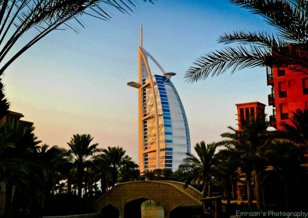 Burj al Arab HDR process by imranabhatti