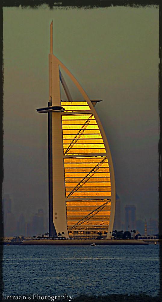 Gold plated Burj al Arab by imranabhatti