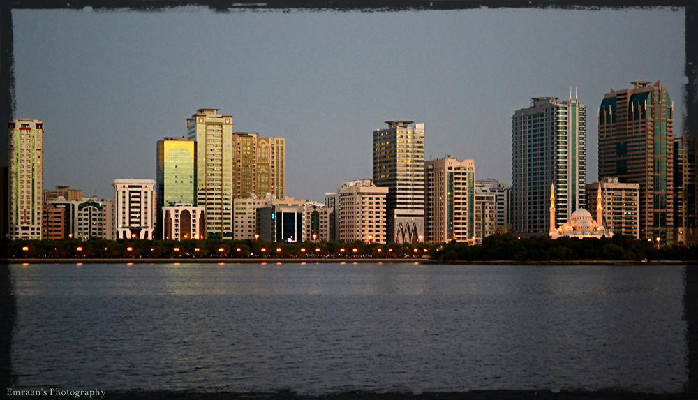 Buhairah Corniche-Sharjah by imranabhatti