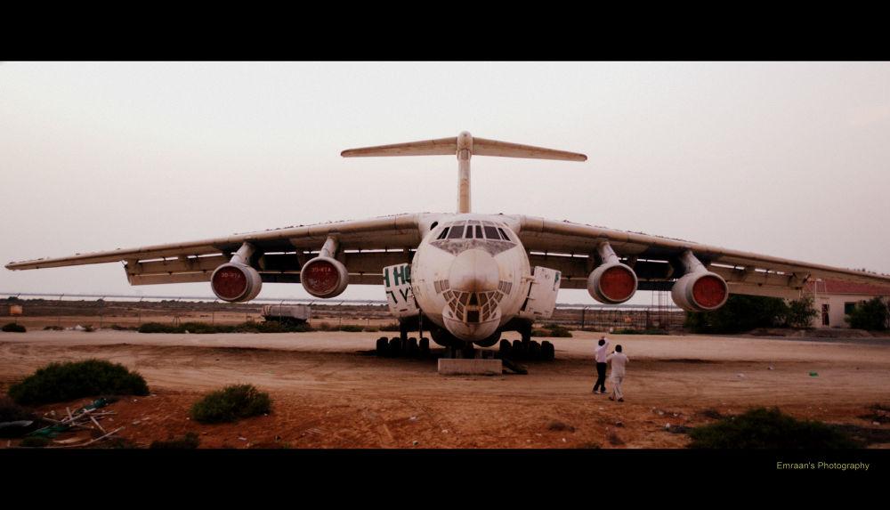 abandoned plane by imranabhatti
