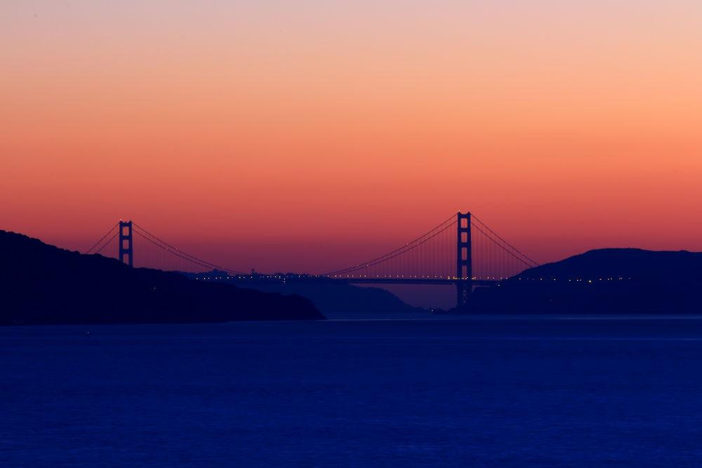 Golden Gate Bridge by Redthistle