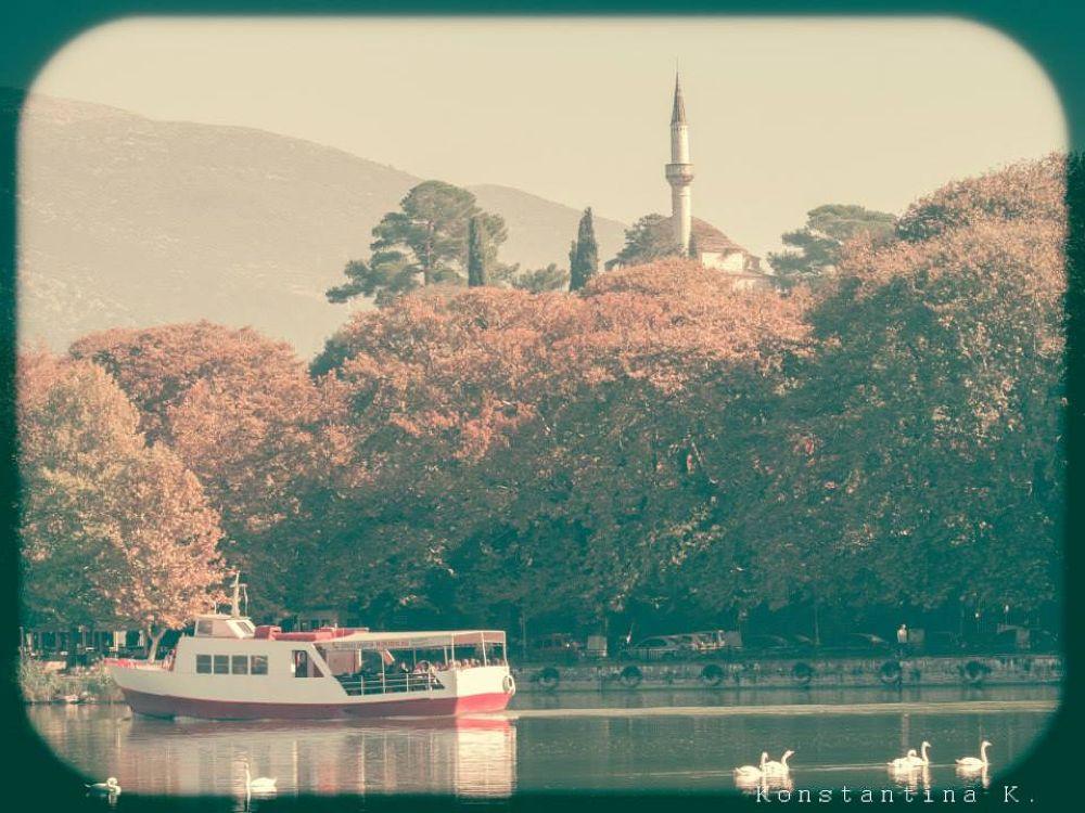 The lake of Ioannina by konstantina koloka