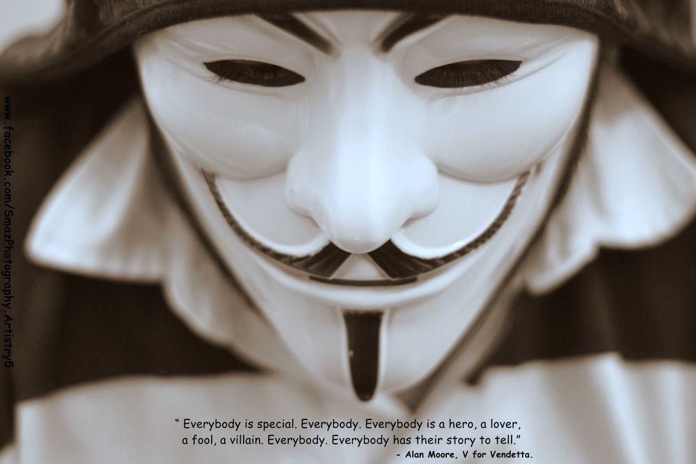 V for Vendetta. by Arsalan Zafar