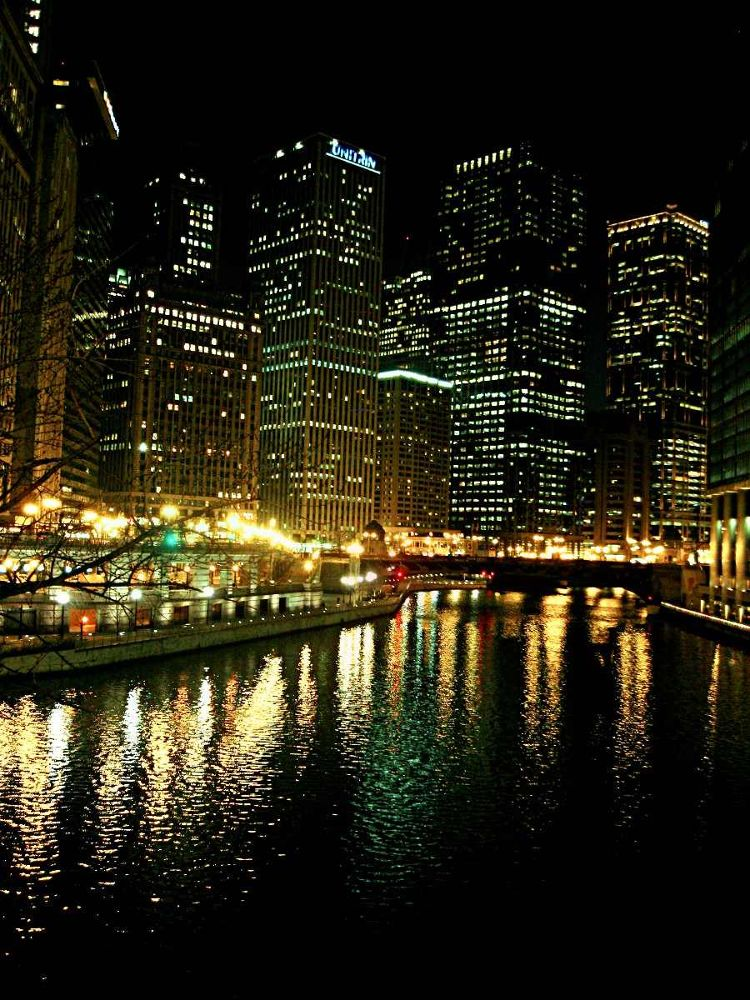 Chicago River by Chipka