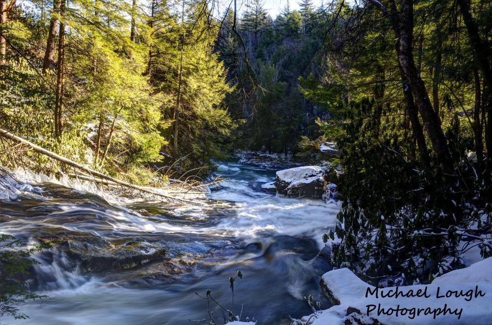 Winter Rapids by Michael Lough
