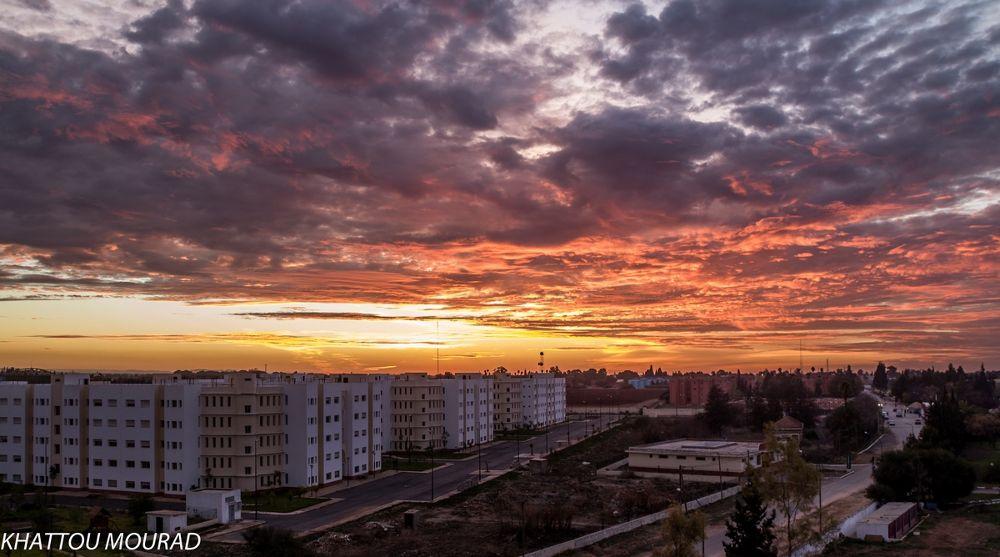 base sunset by khattou Mourad