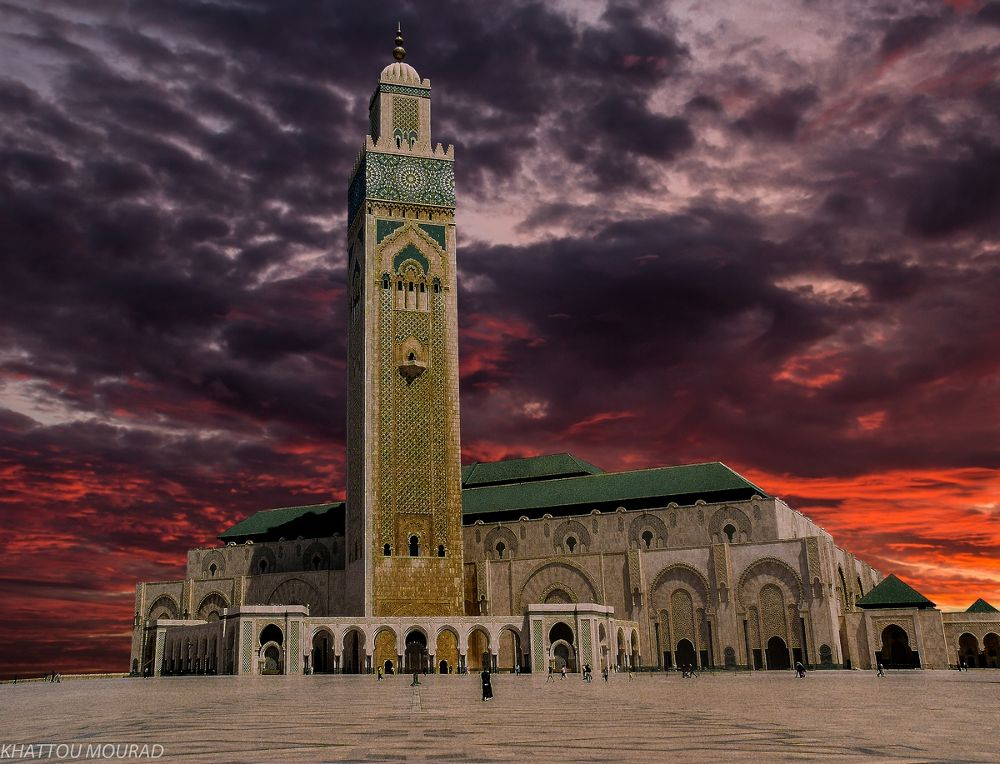 mosque by khattou Mourad