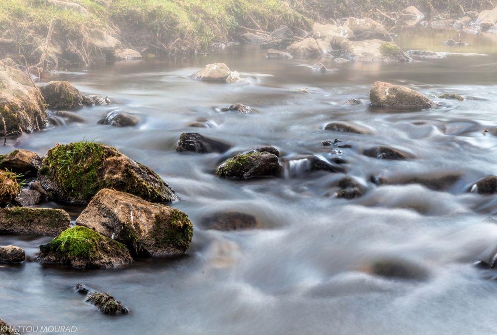 misty creek by khattou Mourad