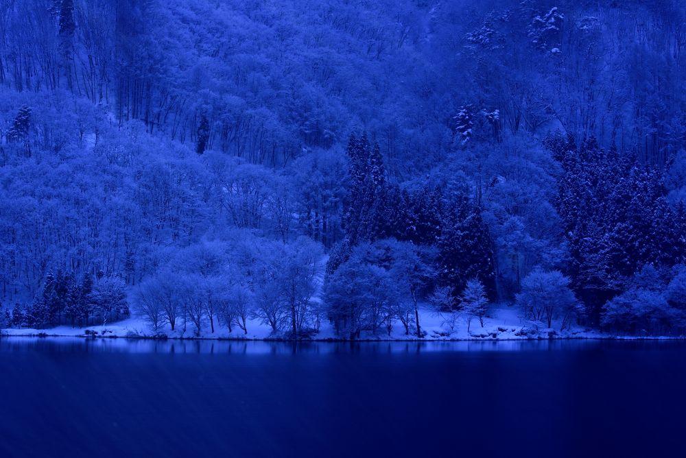 Blue Lakeside by Syuki Eita