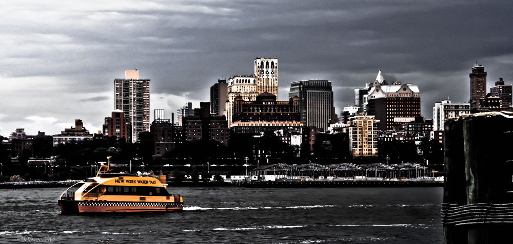 Water Taxi 2 by Sam Mo