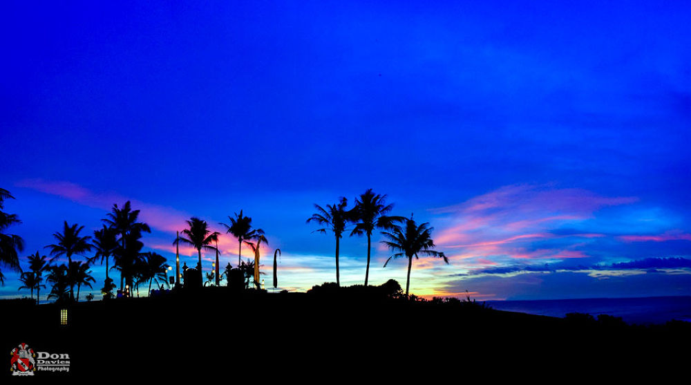 Bali Blue Sky by Don Jose Romulo A. Davies