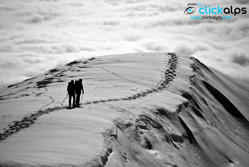 Snowshoeing on Pizzo Argoredo, Lombardy, Italy (foto-di-Giancarlo-Lazzaroni) by clickalps