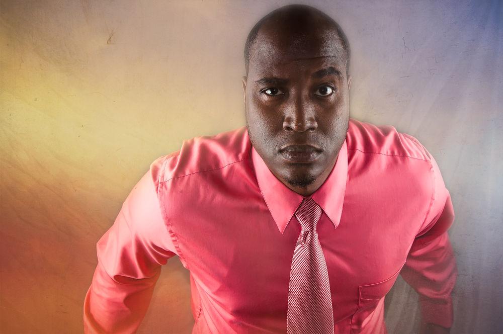 Pink Shirt by Ricardo Williams