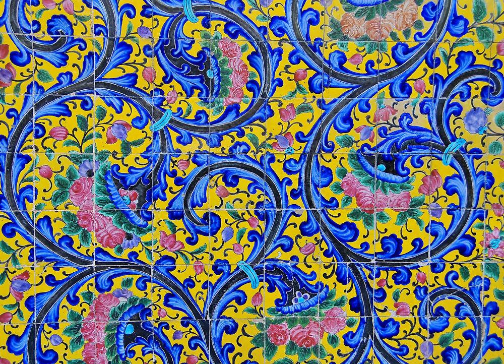 blue by manzaraghdaee