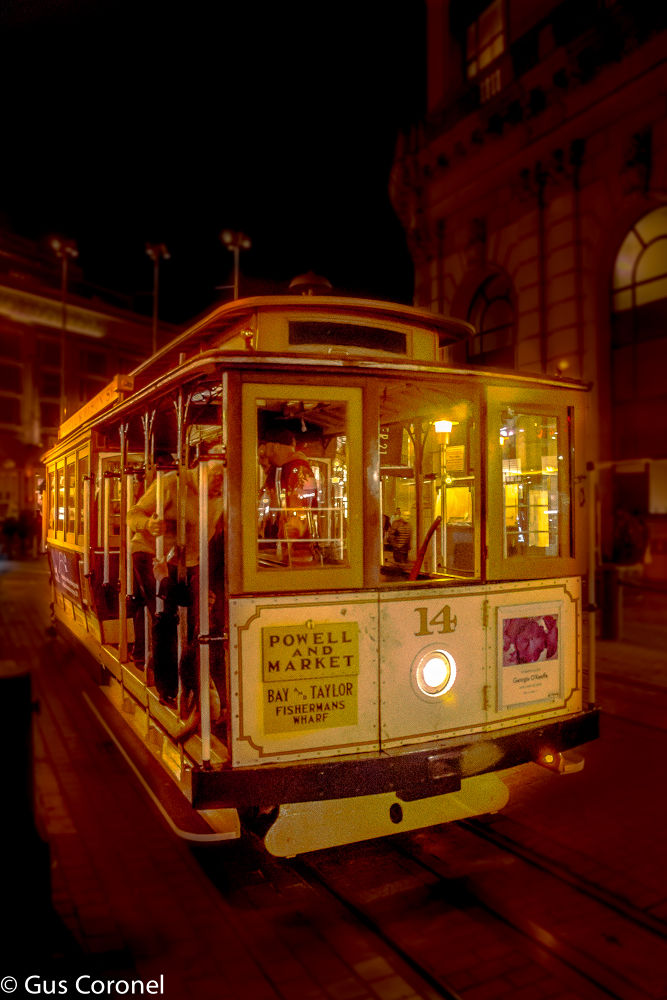Cable Car by Gustavo Coronel