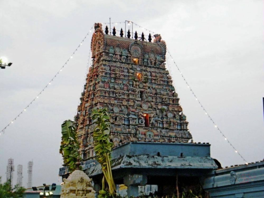 Thirumalisai Temple, Chennai by saravanayuvaraj