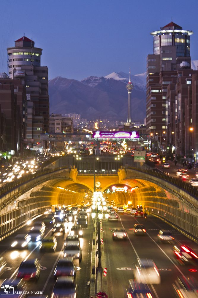 night of tehran by alireza naseri