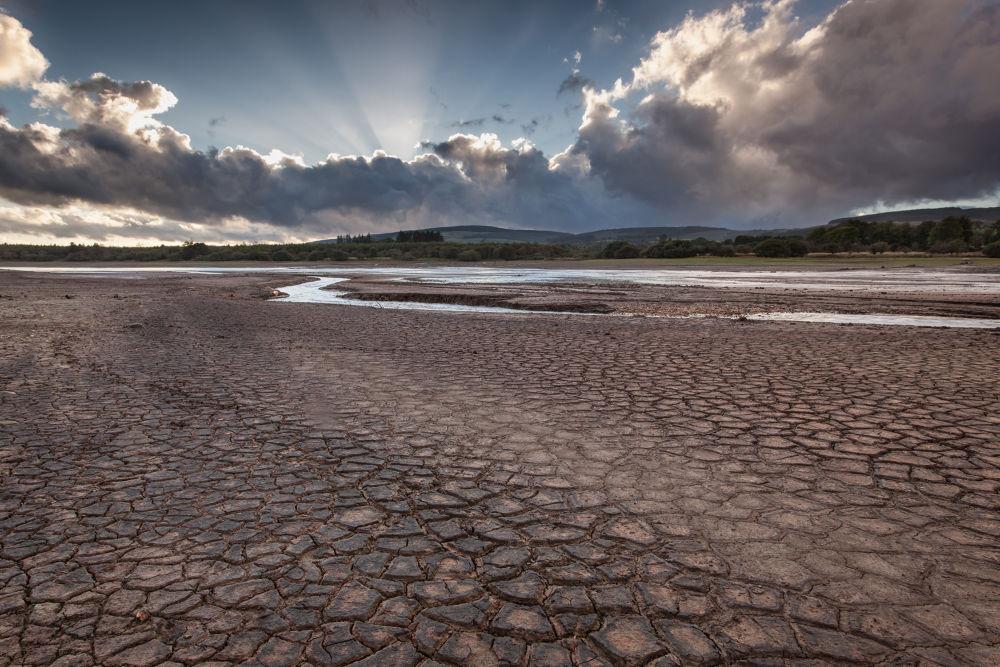 An Empty Vartry Reservoir by CMurph