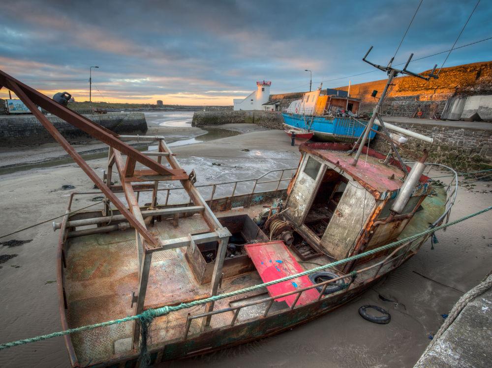 Balbriggan Harbour by CMurph