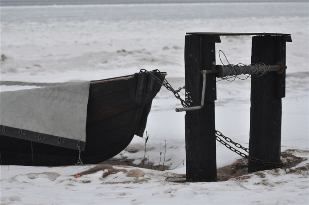 båt_vid_vinterstrand by tor2000lau
