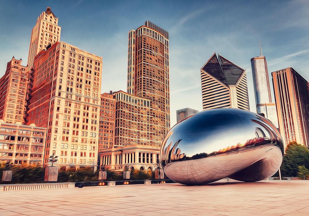 THE BEAN | Millennium Park Chicago, Il. by Joerg Piechotka