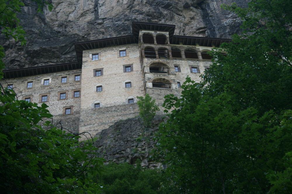 sümela manastırı  by tulaykoroglu