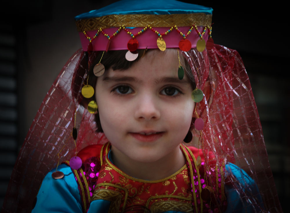 Young Persian Girl by VAMPhotography