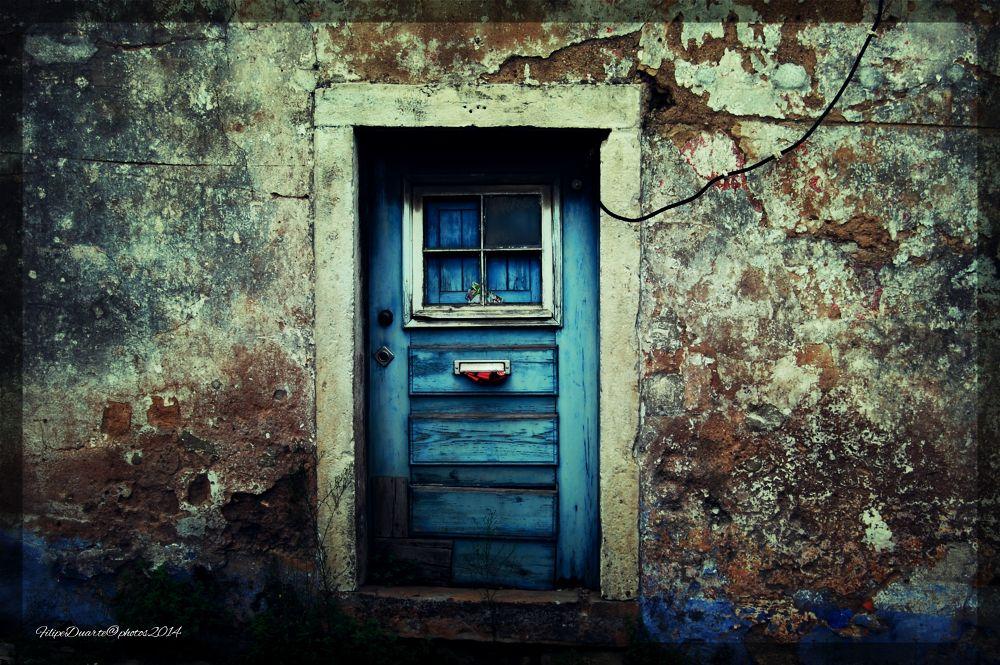 Porta azul by ManuelFilipeDuarte