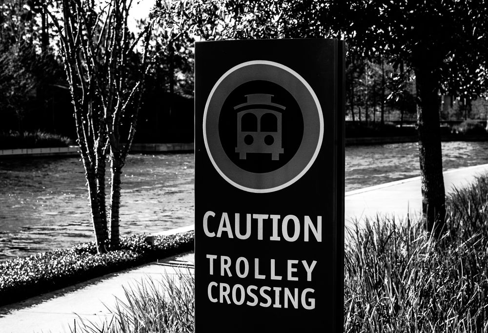 Trolley crossing  by Christopher Thompson3511041