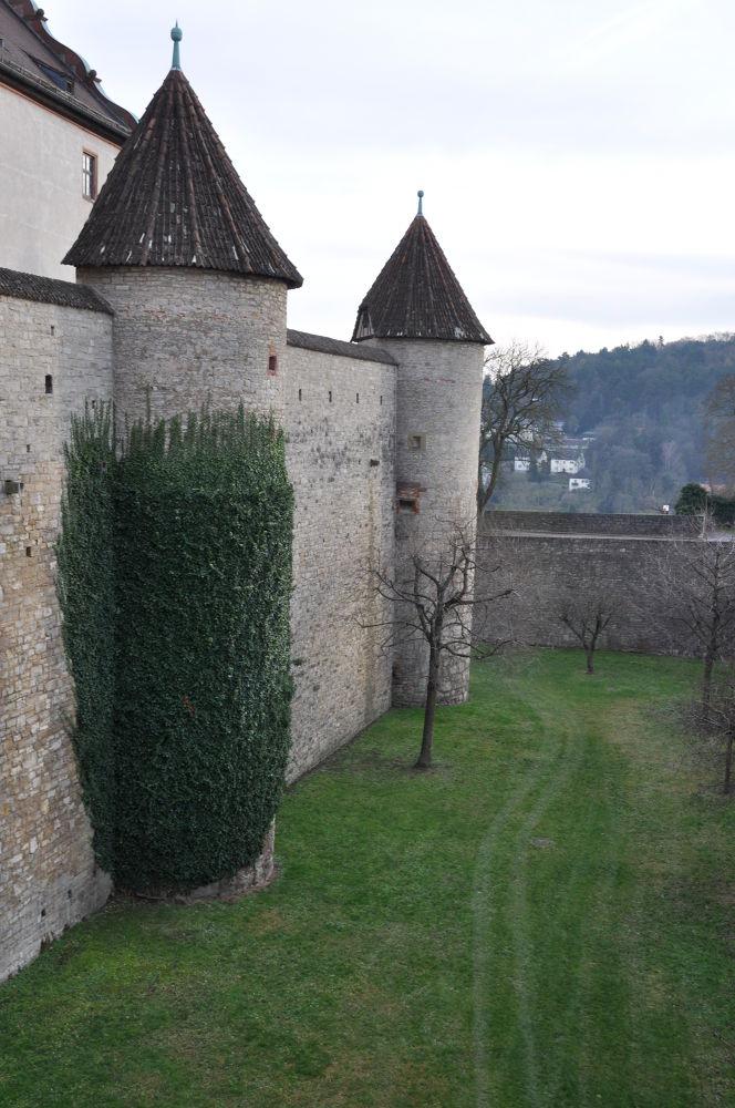 Fortress Marienberg in Wurzburg. by zara azit