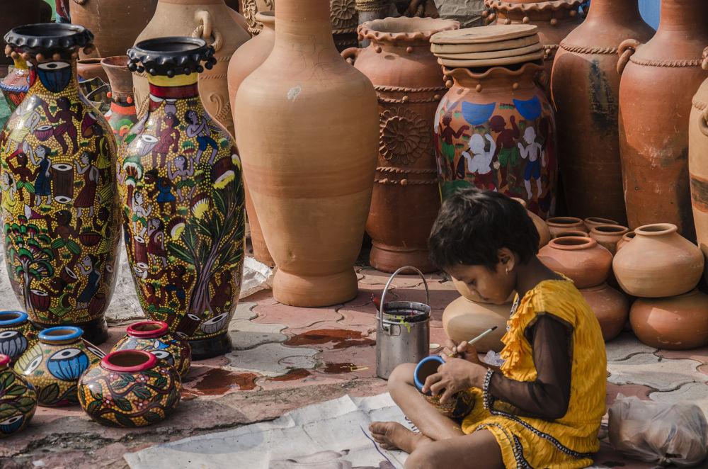 Child's art by Saurav Banerjee