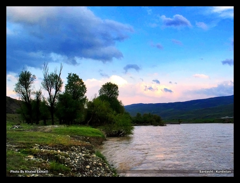 Kalveh River in Kurdistan by KhaledEsmaili