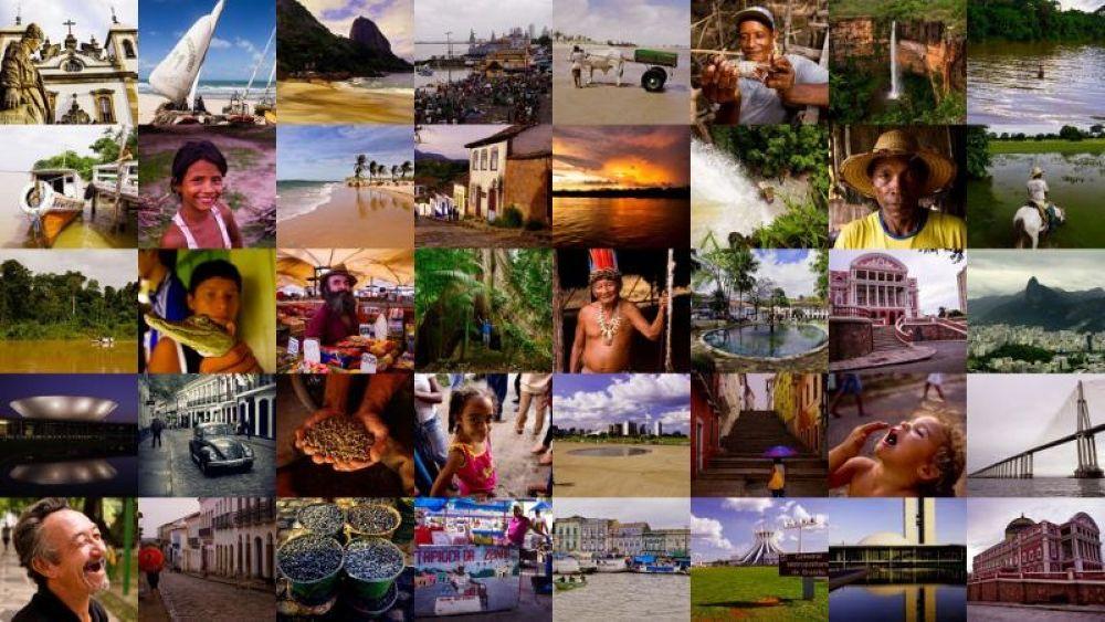 My brazilian collage.   by Zdenko Somorovsky