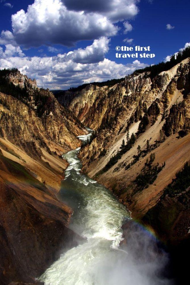 Yellowstone Grand Canyon by Zdenko Somorovsky