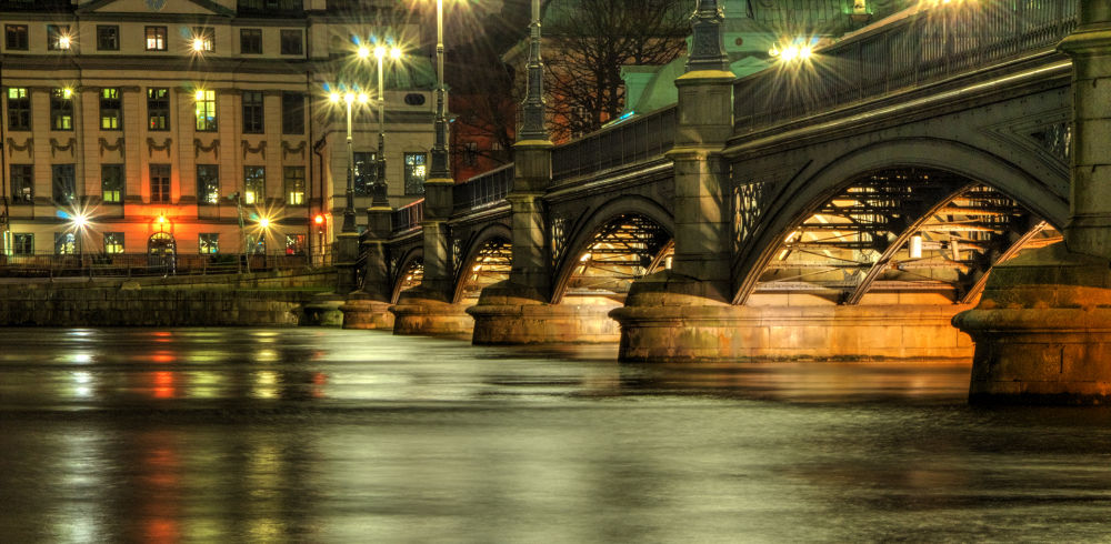 Vasabron in Stockholm -Sweden by Alexander Arntsen