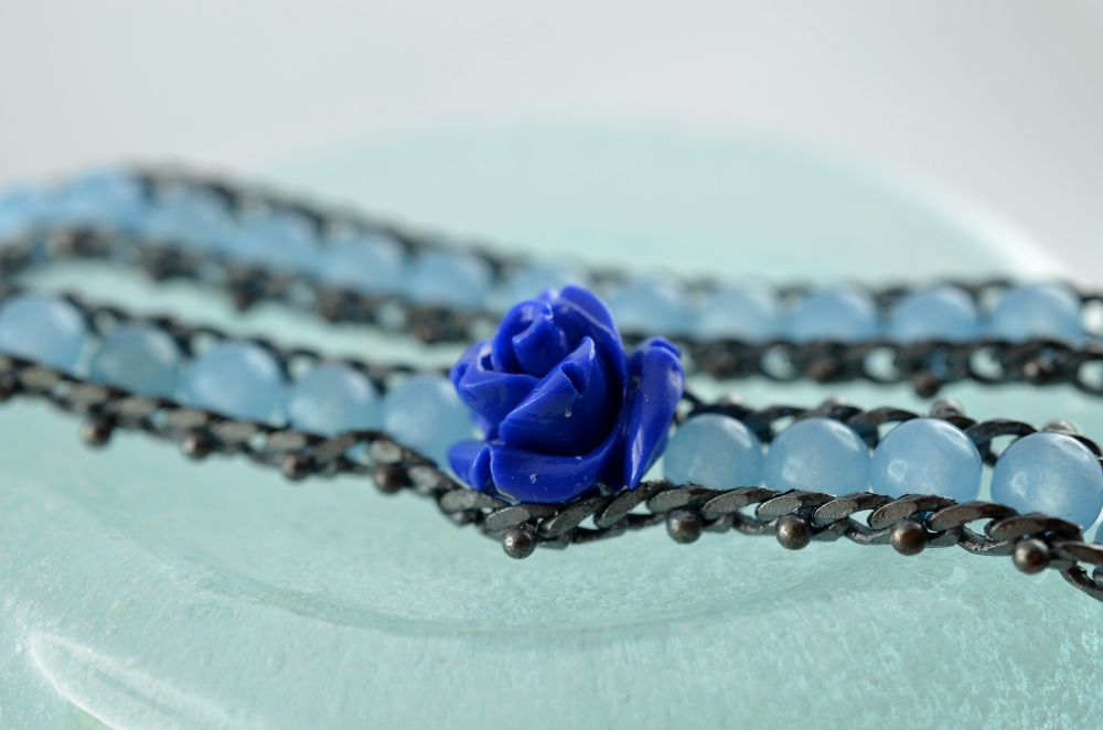 the blue rose by manuel patti
