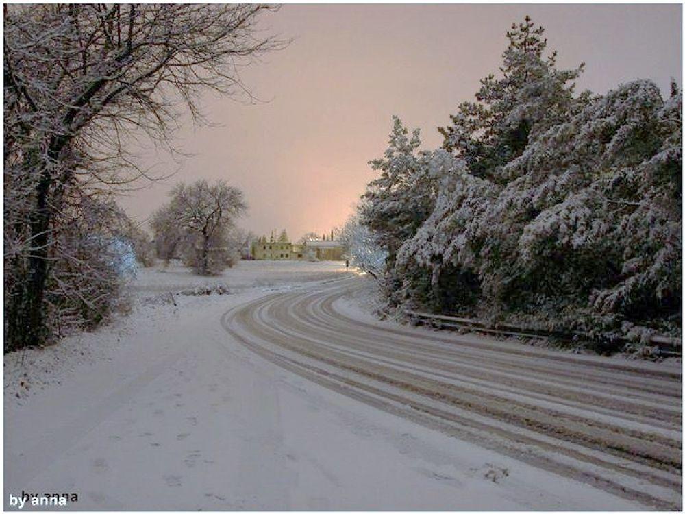 winter on the street! by vintilaana (Anny V. Art photography)