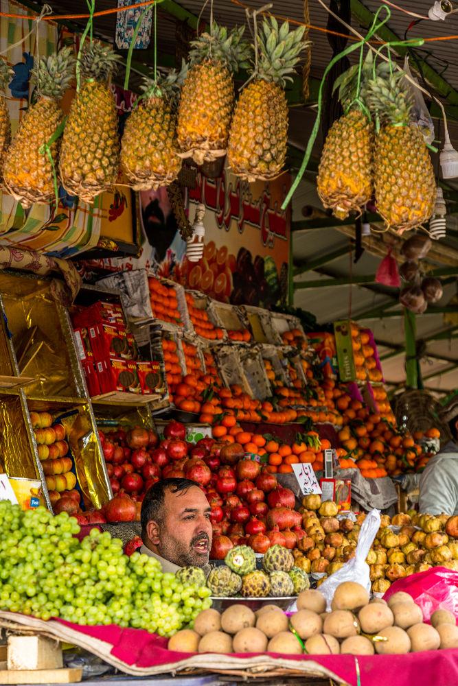 Fruit Kaleidoscope by Ahmed Sajjad
