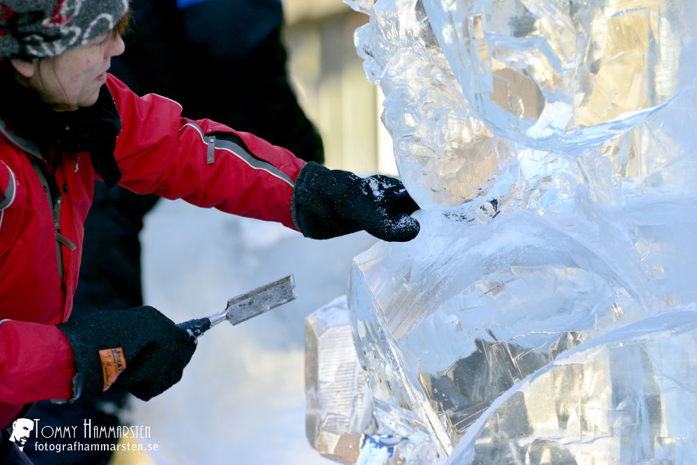 Ice sculpting by tommytechno