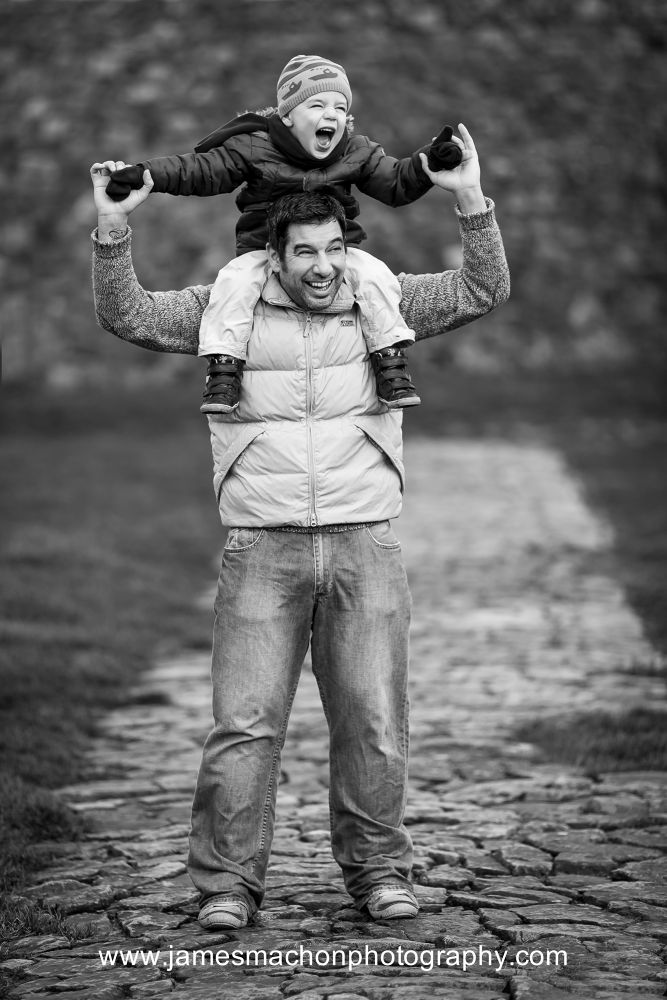 Father & Son by James Machon Photography