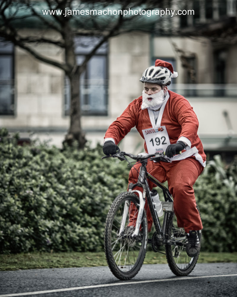 On his way to work.......! :-) by James Machon Photography